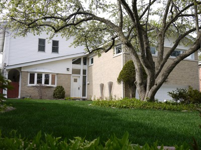 Single Family Home for sales at Updated Contemporary Home 2731 Lincoln Lane Wilmette, Illinois 60091 United States