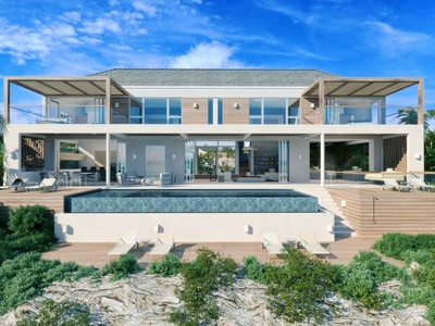 Single Family Home for sales at Beach Enclave - Two Storey Villa- LOT 3 Beachfront Blue Mountain, Providenciales TC Turks And Caicos Islands