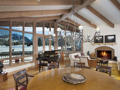 Einfamilienhaus for sales at Duplex lot with full-on views of Maroon Bells 1520 Homestake Drive  Aspen, Colorado 81611 Vereinigte Staaten
