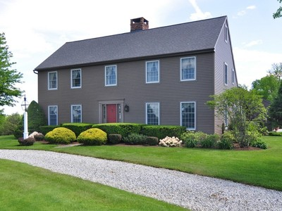 Single Family Home for sales at Elegant Colonial with Views 72 Pie Hill Road Goshen, Connecticut 06756 United States