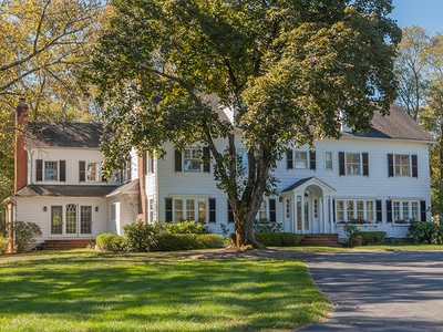 Einfamilienhaus for sales at Refined Country Living Moments From Princeton - Lawrence Township 233 Carter Road Princeton, New Jersey 08540 Vereinigte Staaten