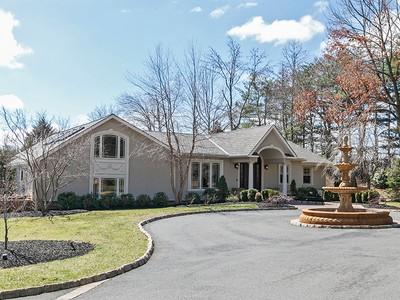 Maison unifamiliale for sales at Rose Garden Estate - Hopewell Township 180 Marshall Corner Woodsville Road Pennington, New Jersey 08534 États-Unis
