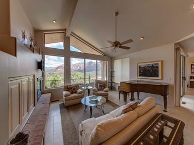 Single Family Home for sales at Views, Views, Views! 25 W Brins Mesa Rd Sedona, Arizona 86336 United States