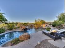Частный односемейный дом for sales at Elegantly Appointed Home On Over-sized Lot Backing To Open Area Of Lush Desert 9606 E Sutherland Way   Scottsdale, Аризона 85262 Соединенные Штаты