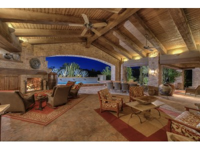 Maison unifamiliale for sales at Rustic Award Winning Estate On A Rare Whisper Rock Estates Golf Course Lot 7598 E Whisper Rock Trail  Scottsdale, Arizona 85266 États-Unis