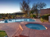 Property Of Stunning Panoramic Mountain Views On An Extraordinary Private 1.26 Acre Lot