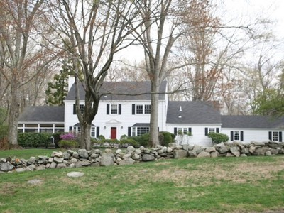 Single Family Home for sales at WESTOVER COLONIAL 333 Westover Road Fairfield, Connecticut 06902 United States