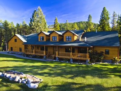 Farm / Ranch / Plantation for sales at Estate at Peak View 68 Peak VIew Drive Sagle, Idaho 83860 United States