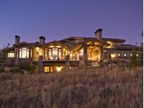 Maison unifamiliale for sales at Grand Ski Resort Olympic Park and Golf Views 3206 Saddleback Ridge Dr Lot 21   Park City, Utah 84098 États-Unis