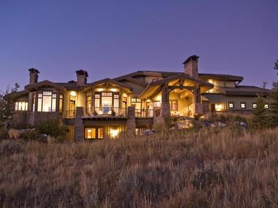 獨棟家庭住宅 for sales at Grand Ski Resort Olympic Park and Golf Views 3206 Saddleback Ridge Dr Lot 21 Park City, 猶他州 84098 美國