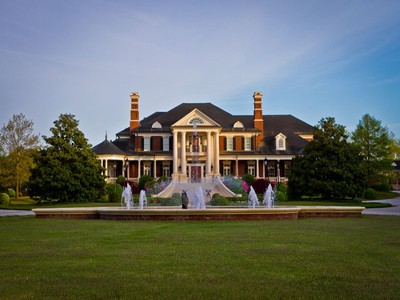 Single Family Home for sales at Spectacular Gated Custom Estate On 14.5 Acres 5200 Moore Road Suwanee, Georgia 30024 United States