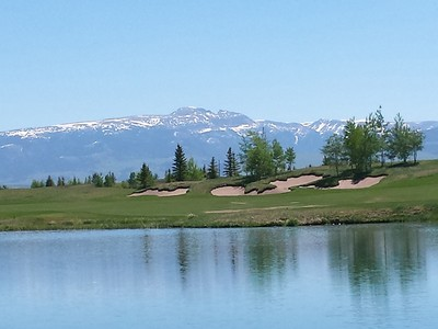 Terrain for sales at Premiere Lakeside Site in Shooting Star 7025 Jensen Canyon Road Teton Village, Wyoming 83025 États-Unis