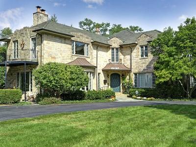 Maison unifamiliale for sales at 745 S Oak St  Hinsdale, Illinois 60521 États-Unis