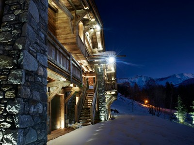 Single Family Home for sales at Chalet SOLEIL  Megeve, Rhone-Alpes 74120 France