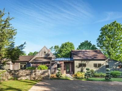 Vivienda unifamiliar for sales at American Pastoral Beauty 15 Old Stone Post Road Lyme, Connecticut 06371 Estados Unidos
