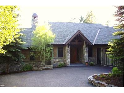 Casa para uma família for sales at Custom Builders Home with Lake View 113 S. Shooting Star Circle Whitefish, Montana 59937 Estados Unidos