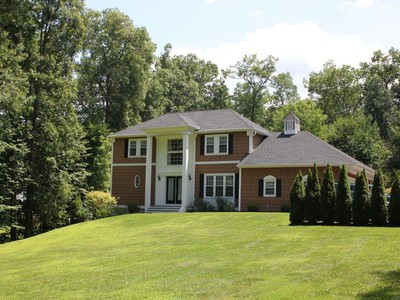 Single Family Home for sales at Custom Built Colonial 7 Coach Hill Road  Danbury, Connecticut 06811 United States