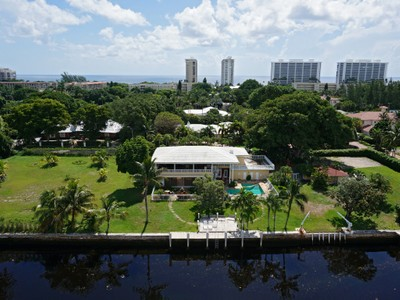 一戸建て for sales at 1235 Spanish River Rd   Boca Raton, フロリダ 33432 アメリカ合衆国