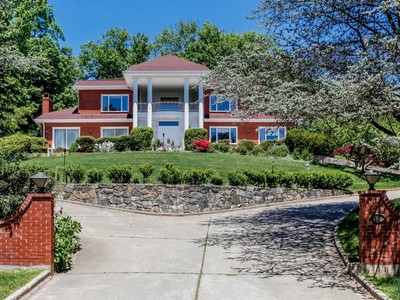 Single Family Home for sales at Gracious brick Colonial 12 Lakeside Drive Rye, New York 10580 United States