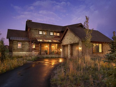 Single Family Home for sales at Luxury Trappers Cabin with a Club Membership and views of Park City Mountain Res 8238 Western Sky Lot #21   Park City, Utah 84098 United States