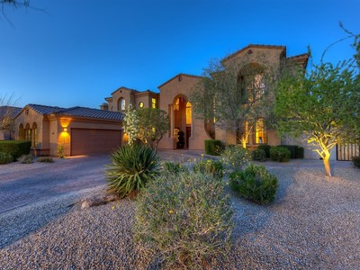 Villa for sales at Luxurious Windgate Ranch Estate 18127 N 100th Way Scottsdale, Arizona 85255 Stati Uniti