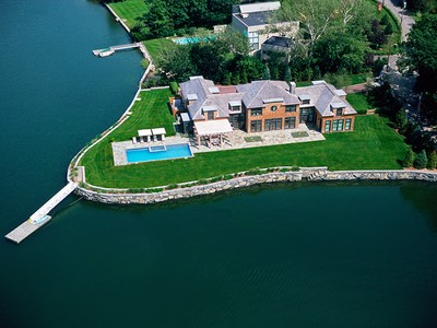 Nhà ở một gia đình for sales at Spectacular Custom Home 1209 Greacen Point Road Mamaroneck, New York 10543 Hoa Kỳ