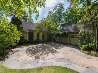 独户住宅 for sales at 1.3 Acres of Seclusion Inside of 285 with Tennis Court 3908 Chaucer Wood Atlanta, 乔治亚州 30319 美国