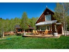 Casa Unifamiliar for  sales at Spectacular Views of Surrounding Mountains 1500 Trappers Way   Crested Butte, Colorado 81224 Estados Unidos