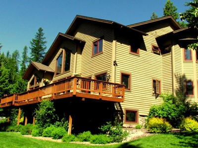 Single Family Home for sales at Exterior 1155 Northwoods Drive Whitefish, Montana 59937 United States