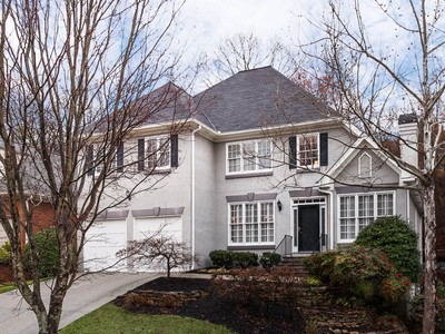 단독 가정 주택 for sales at Cluster Home In Riverwood 325 Ledgemont Court Sandy Springs, 조지아 30342 미국