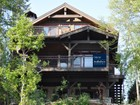 Single Family Home for  sales at Rustic Custom Home on Whitefish Lake 1696 W Lakeshore Drive Whitefish, Montana 59937 United States