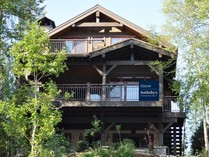 独户住宅 for sales at Rustic Custom Home on Whitefish Lake 1696 W Lakeshore Drive   Whitefish, 蒙大拿州 59937 美国