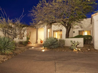 Maison unifamiliale for sales at Sophistacation + Spectacular Views in Guard Gated Glenn Moor 10801 E Happy Valley Rd #38 Scottsdale, Arizona 85255 États-Unis