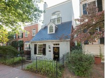 Townhouse for sales at Burleith 1812 35th St NW   Washington, District Of Columbia 20007 United States