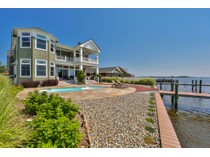 Villa for sales at Spectacular Bayfront Custom Home 117 Pershing Boulevard   Lavallette, New Jersey 08735 Stati Uniti