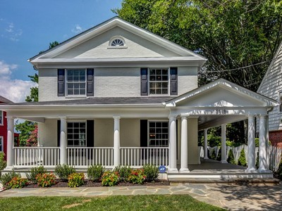 Single Family Home for sales at Martins Additions 3515 Shepherd St Chevy Chase, Maryland 20815 United States