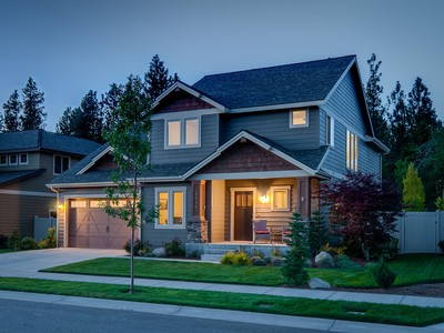 Single Family Home for sales at Renoir Craftsman 2535 West Renoir Avenue Coeur D Alene, Idaho 83815 United States