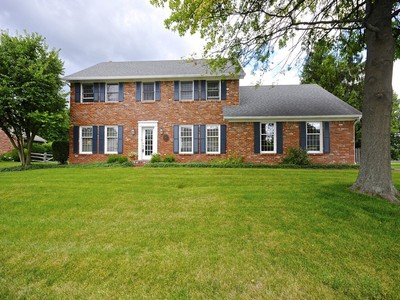 Single Family Home for sales at Beautiful Home in Coveted Briarstone 5110 Briarstone Trace Carmel, Indiana 46033 United States