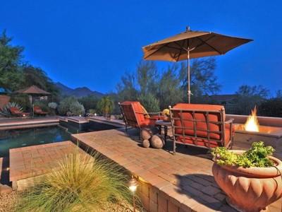 Maison unifamiliale for sales at Gorgeous Home on Cul-De-Sac in Gated DC Ranch Desert Camp Subdivision 9565 E Mountain Spring Rd Scottsdale, Arizona 85255 États-Unis