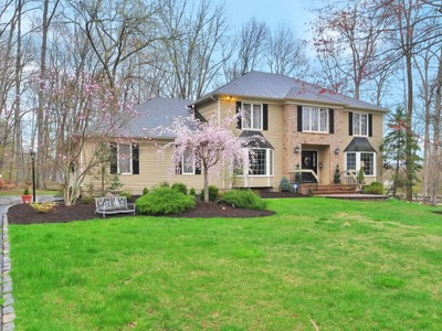 Single Family Home for sales at Well-Maintained Colonial Home 16 Manette Road Morris Township, New Jersey 07960 United States
