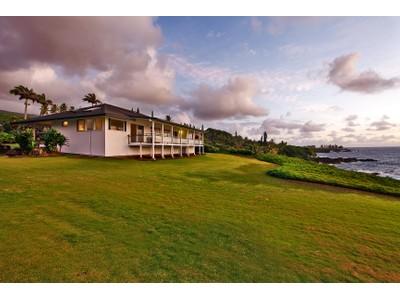 Single Family Home for sales at Spectacular Oceanfront Hana, Maui! 35 Kapohue Road Hana, Hawaii 96713 United States