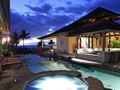 Maison unifamiliale for sales at Luxury Living on Maui's South Shore 37 Ualei Place Wailea, Hawaii 96753 États-Unis