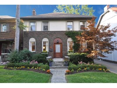 Nhà ở một gia đình for sales at 34 Cheritan Avenue   Toronto, Ontario M4R1S5 Canada