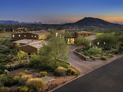 獨棟家庭住宅 for sales at Sunsets, City Lights, Fairways, and Mountain Views 9889 E Honey Mesquite DR Scottsdale, 亞利桑那州 85262 美國