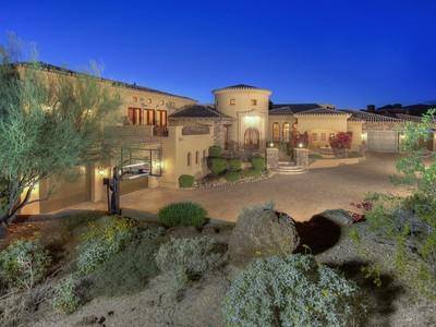 独户住宅 for sales at Magnificent Mountainside Estate with Breathtaking Views 8443 E View Crest Circle Mesa, 亚利桑那州 85207 美国