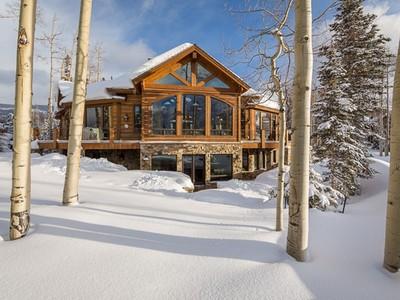 Casa para uma família for sales at 225 Benchmark Drive 225 Benchmark Drive Mountain Village Telluride, Colorado 81435 Estados Unidos