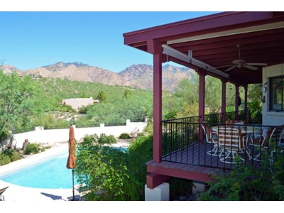 Single Family Home for sales at Stunning Home With Incredible Views Of The Catalina Mountains 5121 N Post Trail Tucson, Arizona 85750 United States