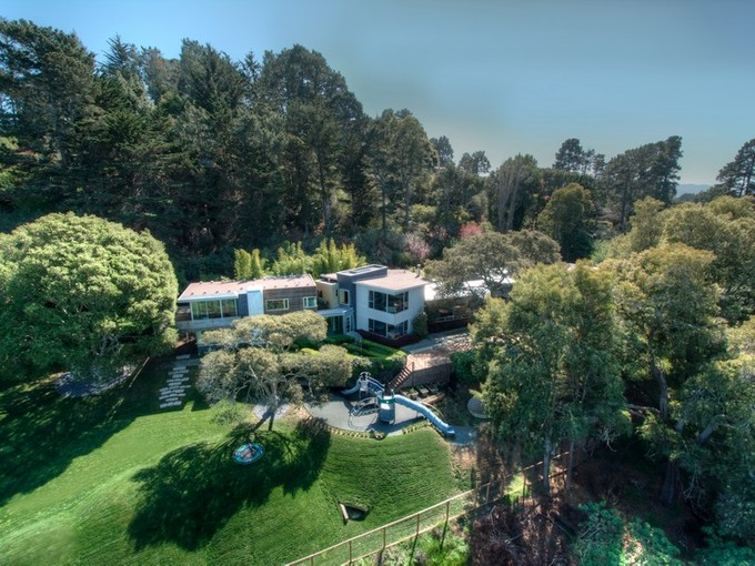 단독 가정 주택 for sales at Tiburon's Award Winning Modern Marvel 35 Hacienda Drive Tiburon, 캘리포니아 94920 미국