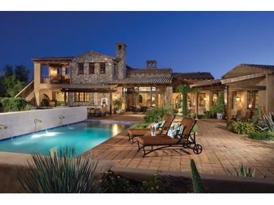 Casa Unifamiliar for sales at Custom Spanish Colonial Retreat On 6th Fairway In Whisper Rock Estates 7326 E Sonoran Trail  Scottsdale, Arizona 85266 Estados Unidos