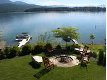 独户住宅 for sales at Whitefish Lake Home 1404 W Lakeshore   Whitefish, 蒙大拿州 59937 美国